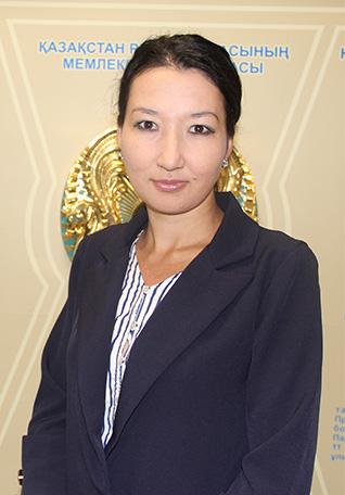 Салимбаева Гаухар Айтеновна