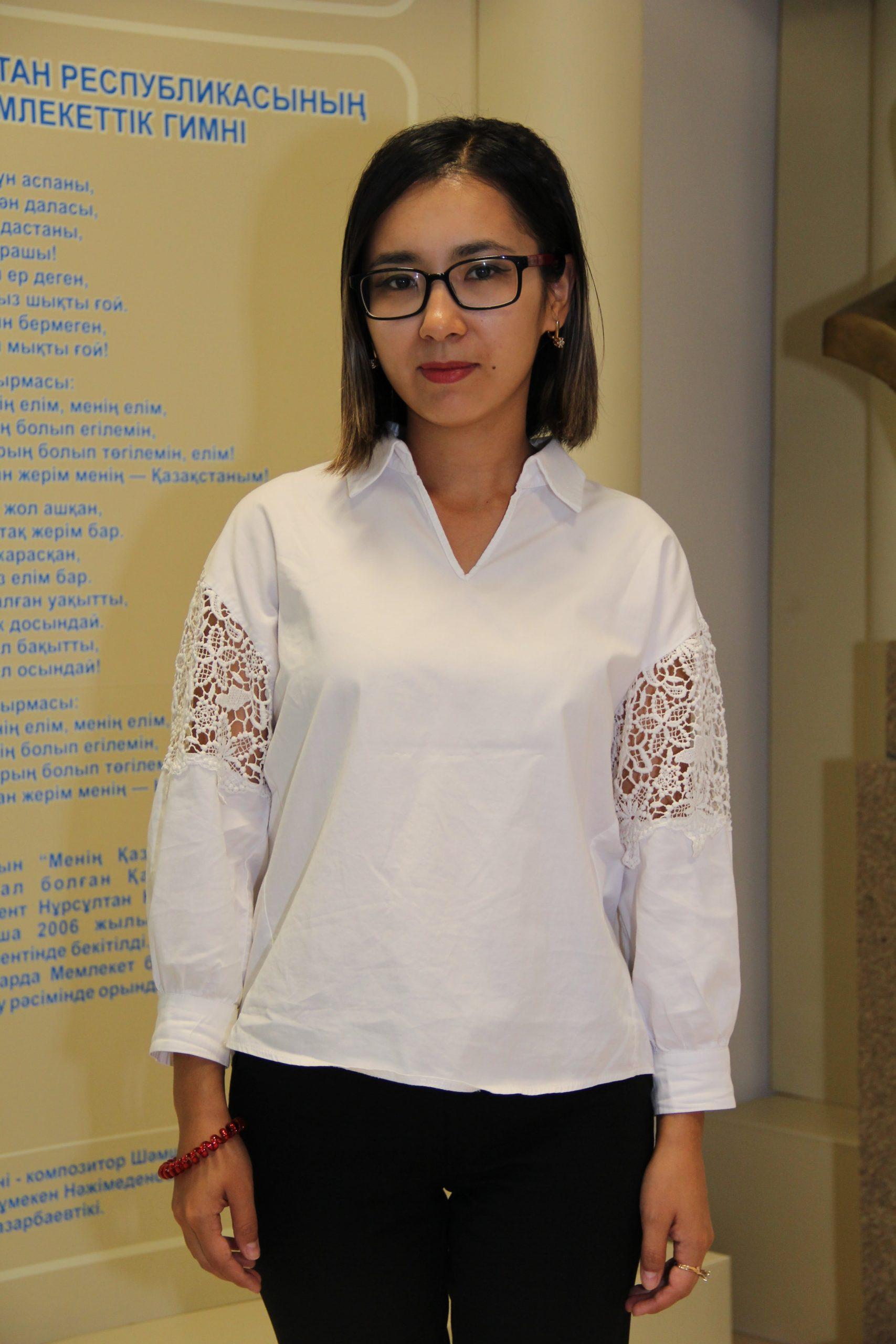 Айтенова Жадыра Болатовна