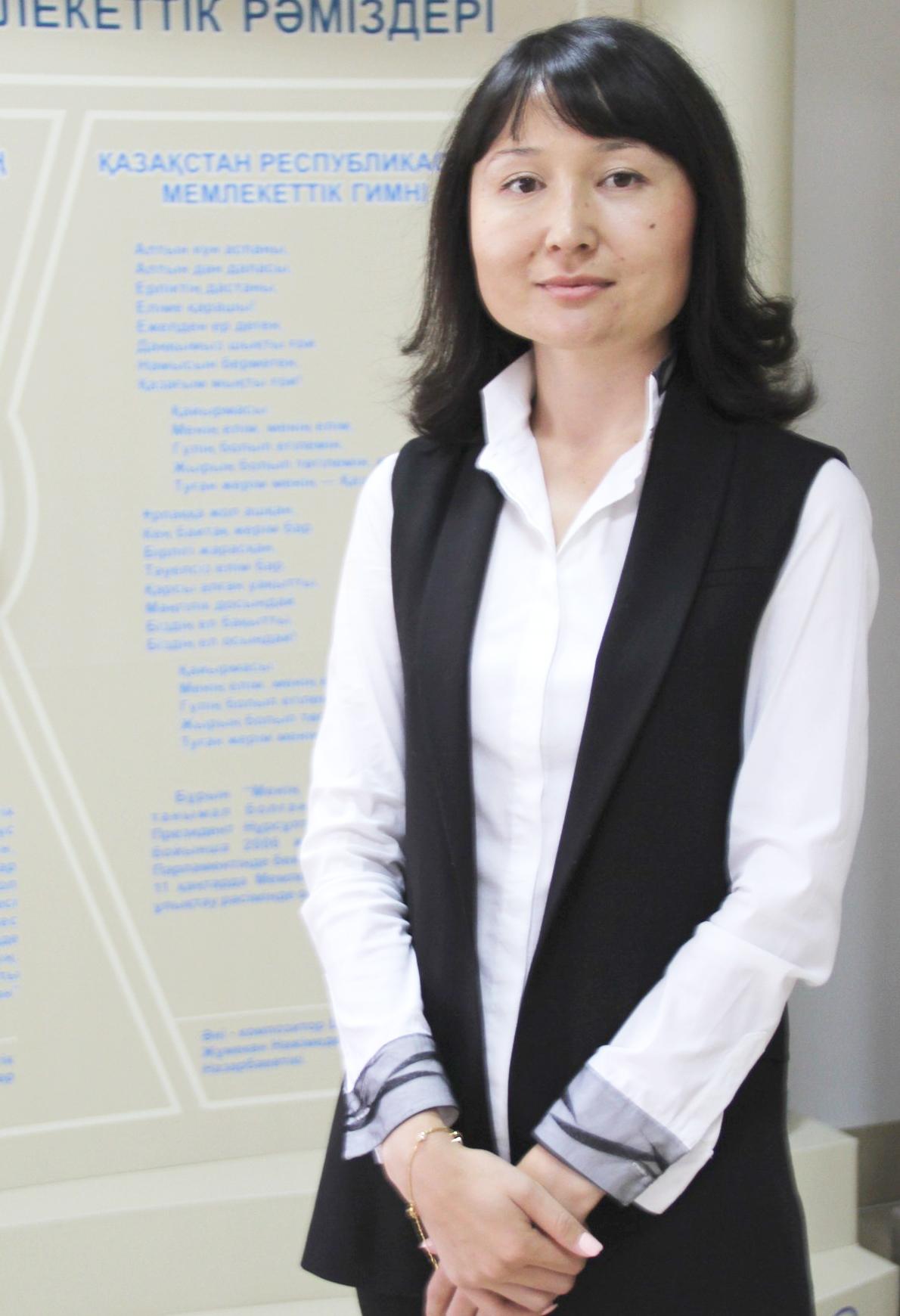 Байжанова Алия Токтасыновна