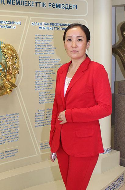 Бакирова Айгуль Муханбеткаликызы