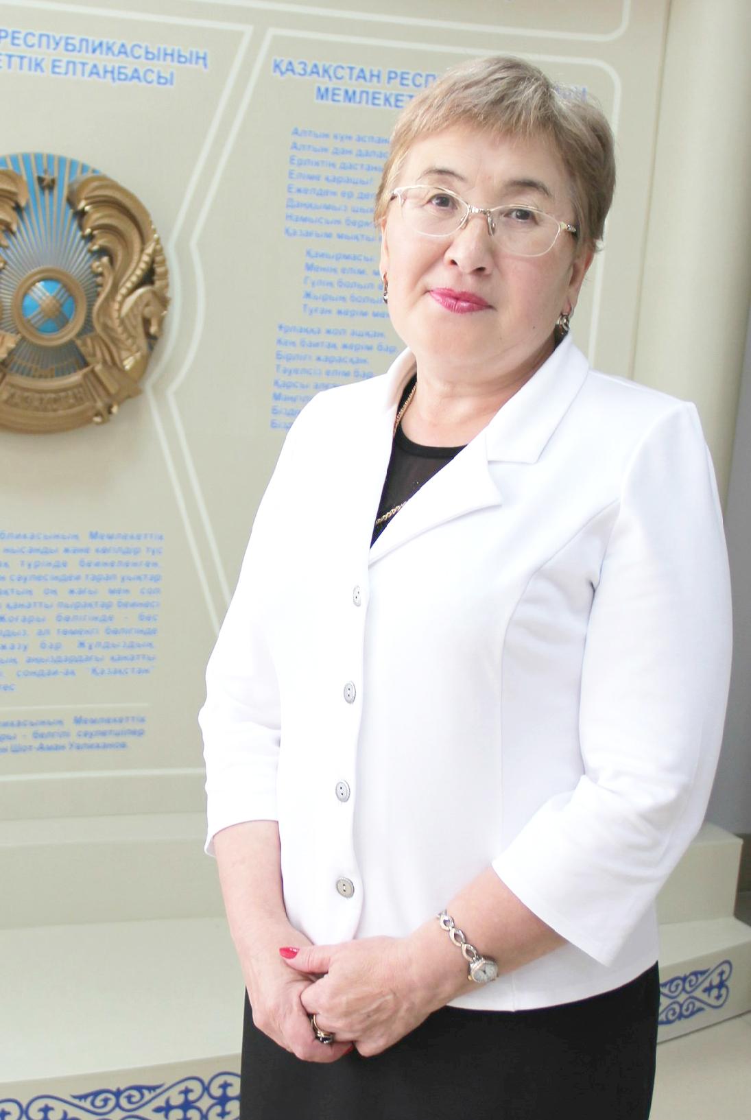 Баубекова  Зайнель Жагопаровна