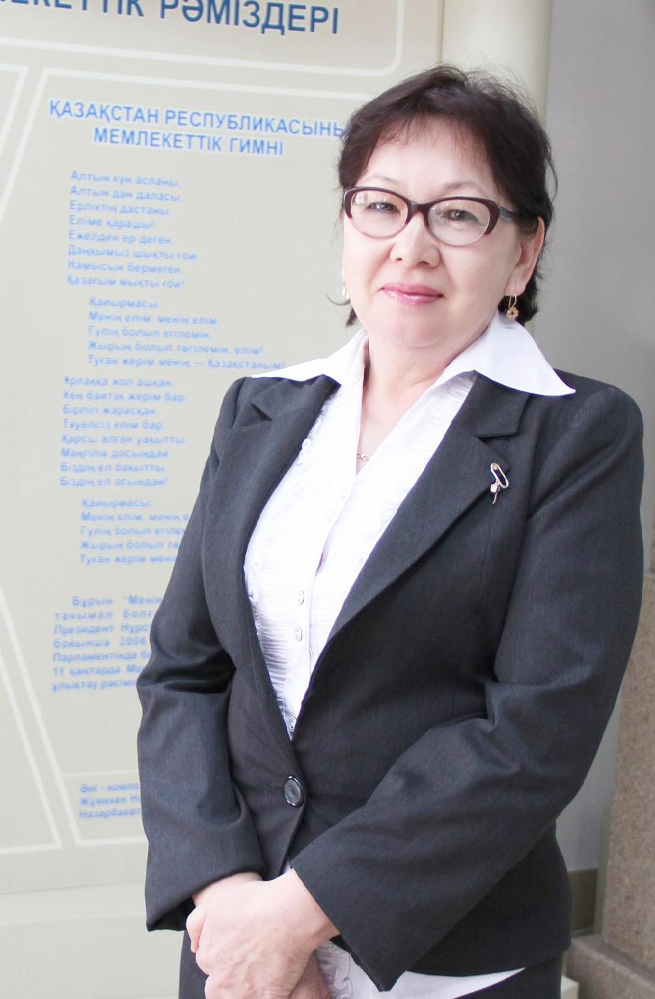 Сыздыкбаева Даметкен Мусахановна