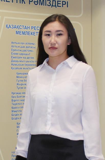 Имангаликова Айжан Бекенкызы